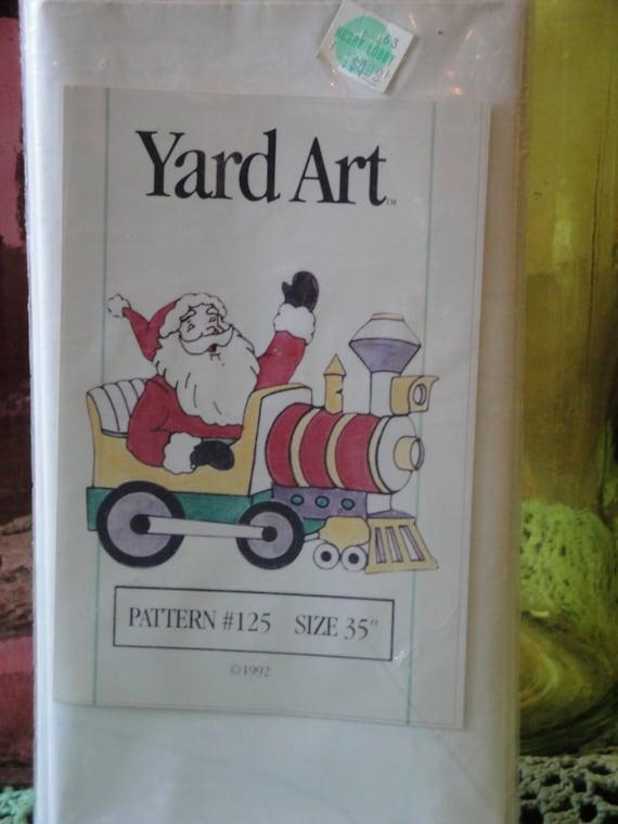 Vintage christmas yard art wood pattern by veedaydesigns for Christmas wood yard art patterns