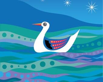 Sea Star - Illustration Print