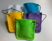 Auto Air Freshener - Hanging Felt Bag Containing Fragrance Pellets to Scent Your Car