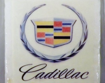 Cadillac Custom Logo Coaster