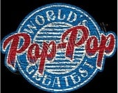 World's Greatest Pop Pop Adult T-shirt New Sizes S-3X FREE Shipping Various Sizes and Colors