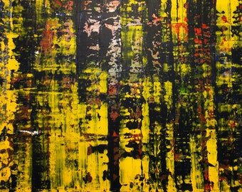 "Original Abstract Art Painting -""It's Complicated"""