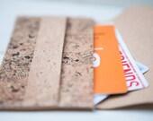 Cats Texture Envelope Cork Cards Purse