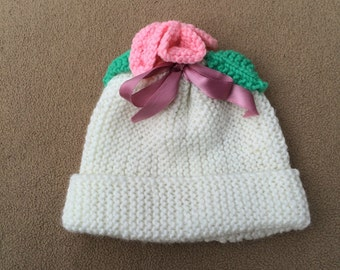 Ivory Toddler's Hat