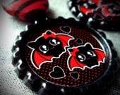 A Little Bit Batty earrings