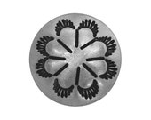 2 Tassel Flower Concho 5/8 inch (16 mm) Metal Buttons