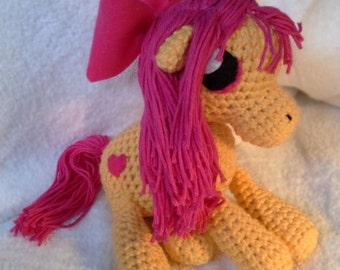Doe-eyed Pony