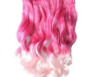 Pink to Pink Ombre Hair Extension