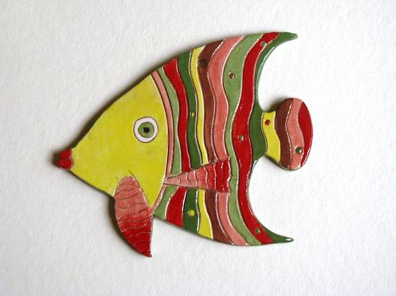 Ceramic Fish Decorative wall hanging