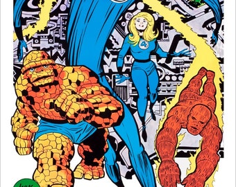 "Marvelmania ""Fantastic Four"" Poster Stand-Up Display"