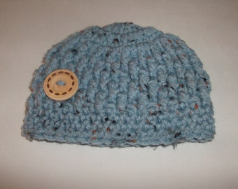 Crochet Baby Hat ,Baby Boy Hat, Newborn Photo Prop ,Baby Beanie, Baby Hat , Newborn Boy Hat ,Made To Order