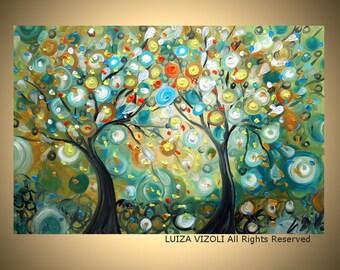 Fantasy Landscape Print from original painting by Luiza Vizoli BEST FRIENDS 12x8