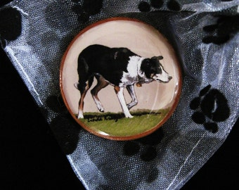 CLEARANCE - Border Collie Original Pin or Magnet