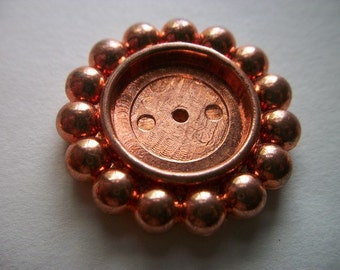 Copper Coated Plastic Round Setting