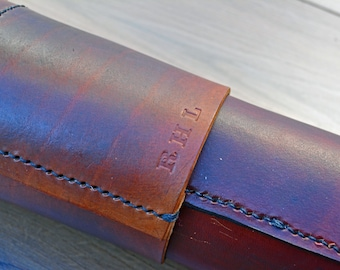Personalise your leather drafting tube