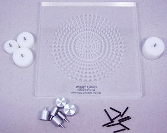 Wigjig Cyclops (Round) Wire Wrapping Kit With All Extra Pegs