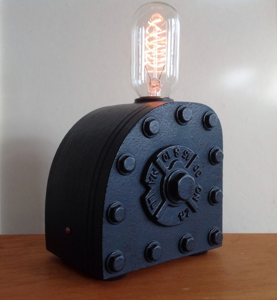 Items Similar To Steam Punk Science Industrial Lamp