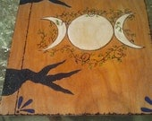 Goddess Heirloom Quality Book of Shadows in color