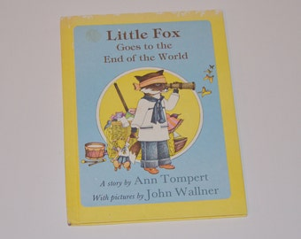 Little Fox Goes to the End of the World by Ann Tompert - Vintage Children's Book