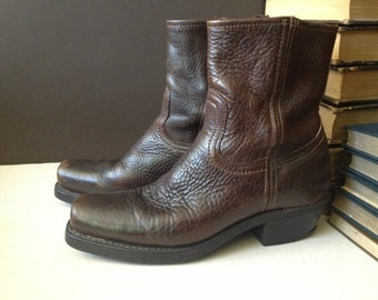 Frye Brown Leather Ankle Boots Size Mens 9 US, Womens 10 US