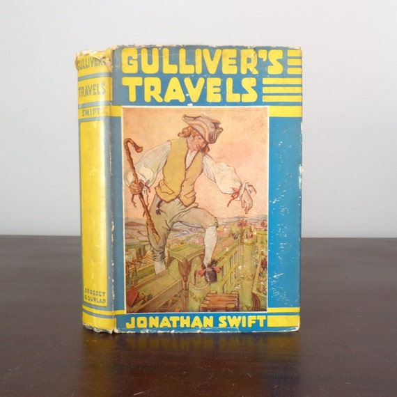 the houynhnmland in jonathan swifts gullivers travels Gulliver's travels, or travels into several remote nations of the worldin four parts by lemuel gulliver, first a surgeon, and then a captain of several ships (which is the full title), is a prose satire by irish writer and clergyman jonathan swift, that is both a satire on human nature and the travellers' tales literary subgenre it is swift's best known full-length work, and a classic of.
