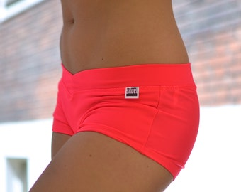 Shorts psycho red for Bikram yoga