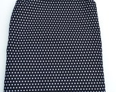 Black and White Polka Dots. Wet/Dry Bag Wet or  Swimsuit Bag and Eco-Friendly