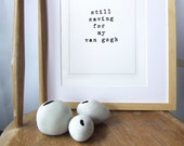 Funny Typographic Art Print - Perfect house warming or Birthday funny present Free Shipping