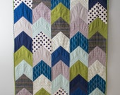 Custom Arrow Tail Baby Quilt