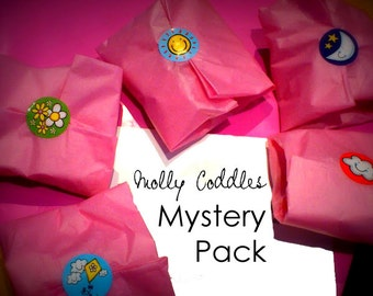 Mystery Pack (kids) - Hair clips, felt accessories, earrings, bracelets, magnets and more!