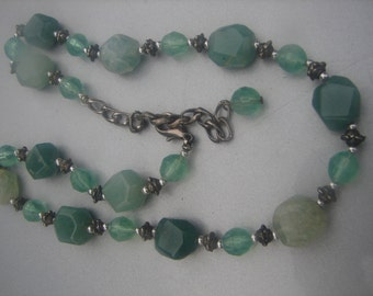 Jade Beaded Necklace 290.
