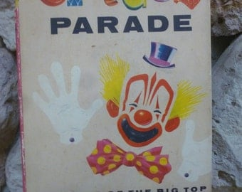 Circus Parade by Phyllis R. Fenner, illustrated by Lee Ames HC DJ