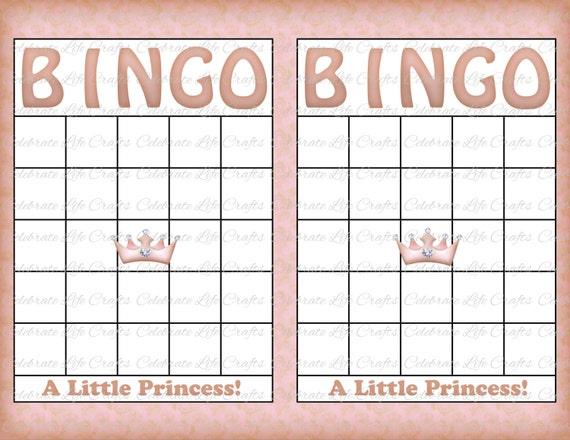baby bingo sheet