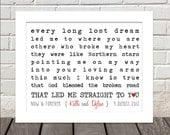 Chorus/Wedding Song/Lyric Print :)