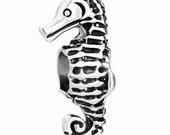 Sea Horse Spacer Bead  For European Style Charm Bracelet