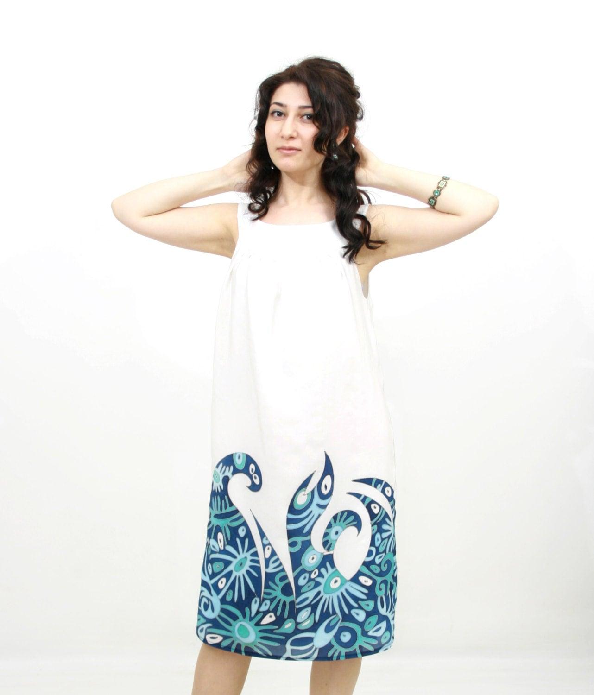 Summer silk dress - Etsy