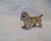 ON RESERVE ~ Tiny (Hubley ?)Cast Metal Dog