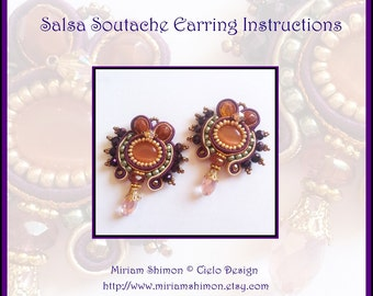 Salsa Soutache Earring Tutorial