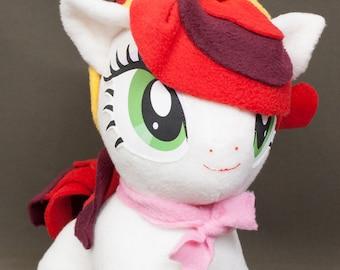 Chibi Cherry Jubilee MLP Hand-Made Custom Craft Plush