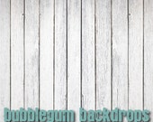 Rustic White Wood - Vinyl Photography  Backdrop Photo Prop