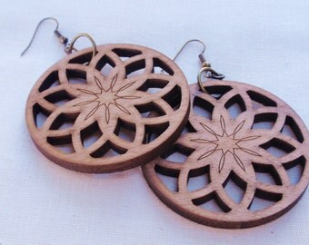 Large Circle Earrings