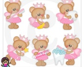 Honey The Tooth Fairy Teddy Bears  Clip art  Clipart Graphics  Commercial Use