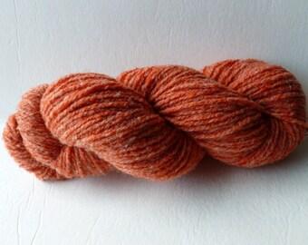Sale Rust Worsted Yarn by Bartlett Yarn