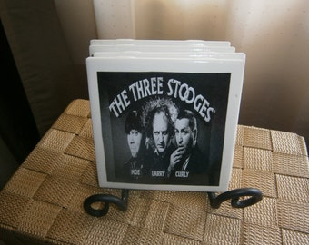 Three Stooges Coasters