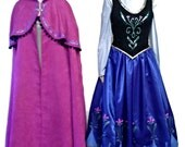 Disney Princess Anna Frozen inspired costume for adults