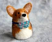 "Extra Tiny Pet Portrait - Fiber Friends ""Nubbins"""