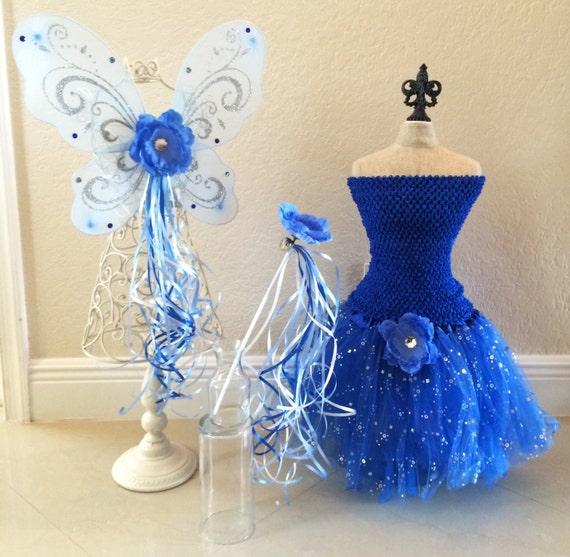Wings  Tinkerbell Fairies  Fairy Wings  Blue Fairy Costume  Blue FairyDark Blue Fairy Wings