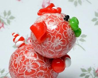 Rosalina Polymer Clay Piglet Figurine