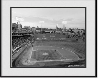 Fenway Park Photo in Black & White - Boston Red Sox Picture