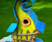 bird house, birdhouse, Curvy Lady Birdhouse available in color options
